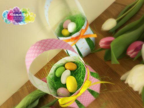 Cestino porta uova di Pasqua