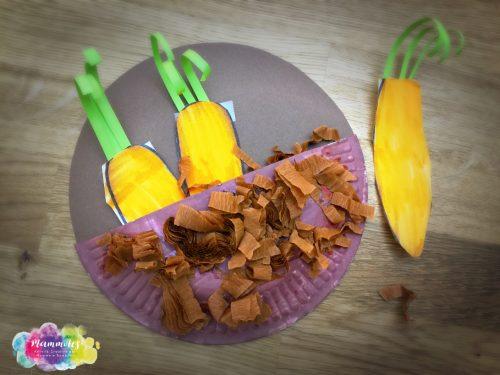 Lavoretto carote dell'orto