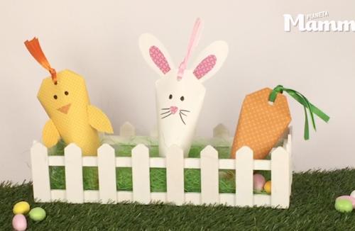 Porta dolcetti di Pasqua