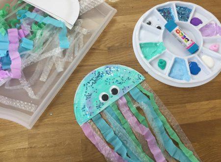 lavoretto medusa di carta
