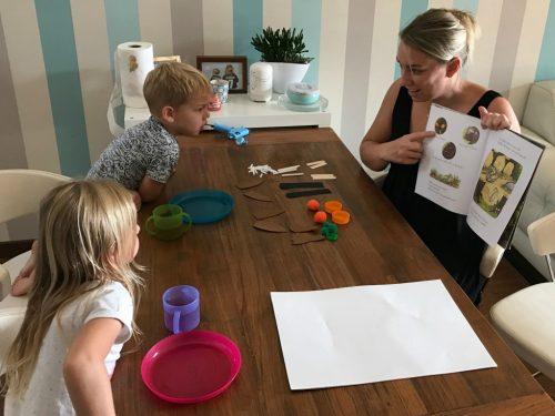 Avvicinare i bambini all'inglese a casa