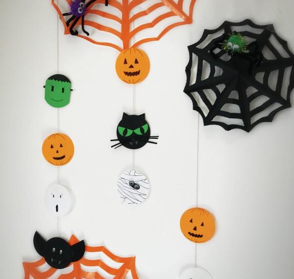 Decorazioni di halloween per bambini mammacs for Decorazioni halloween