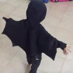 Costume da pipistrello senza cucire