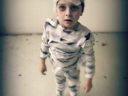 Costume Halloween per bambino Mummia