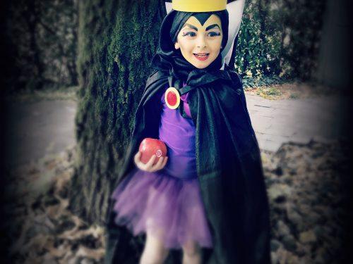 Costume da regina di Biancaneve