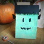 Sacchetti di carta porta dolcetti Halloween