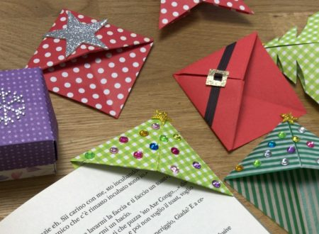 segnalibro natalizio – origami