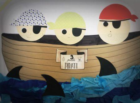 Lavoretto 3 piccoli pirati