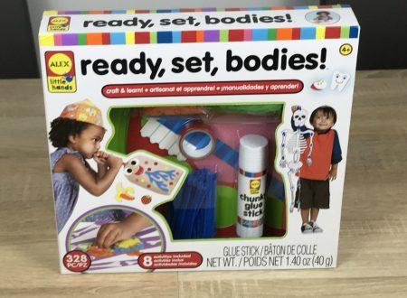 Ready, set, bodies! Imparare il corpo umano con 8 progetti artistici diversi!