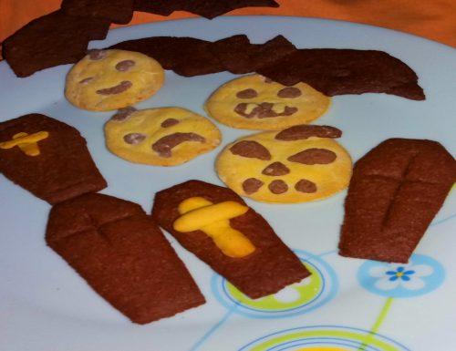 Biscotti zucca e cacao