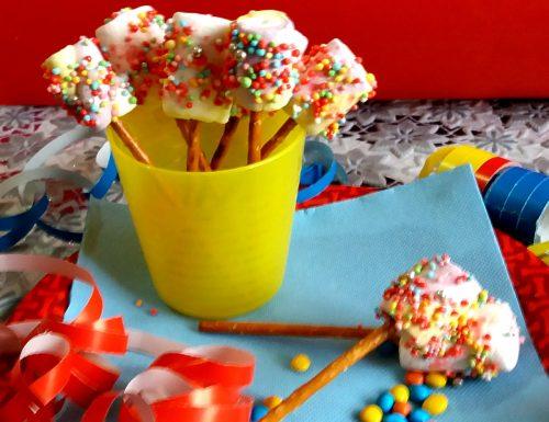 Bastoncini fantasia con marshmallow