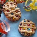 Crostatine Arlecchino per Carnevale