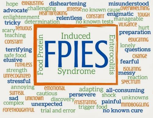FPIES, sindrome dell'enterocolite allergica del lattante