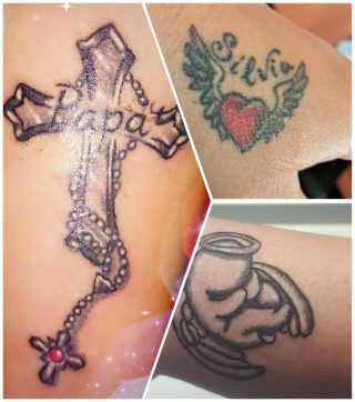tatuaggi angeli