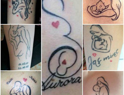 Tatuaggi da dedicare ai propri figli e alla propria famiglia