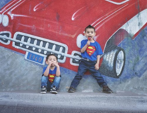 I bambini sono i veri supereroi