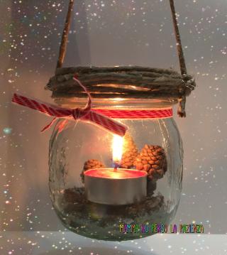Lanterna di natale come realizzarne una a costo zero for Decorazione lanterne natale