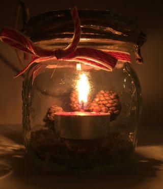 Lavoretti Di Natale Lanterne.Lanterna Di Natale