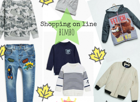 Shopping on line bimbo autunno 2017