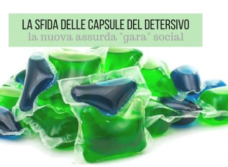 La sfida delle capsule di detersivo