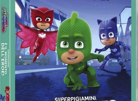 """In uscita il nuovo dvd """"PJ Masks – Super pigiamini: È il momento dell'eroe!"""" (Koch Media)"""