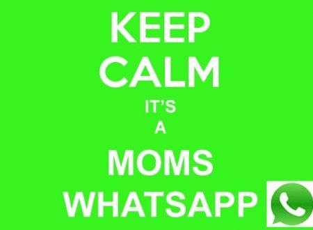 Tra i mali del mondi rientra il gruppo whatsupp (WhatsApp) di classe