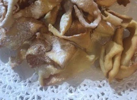 Frappe di carnevale ricetta facile e veloce