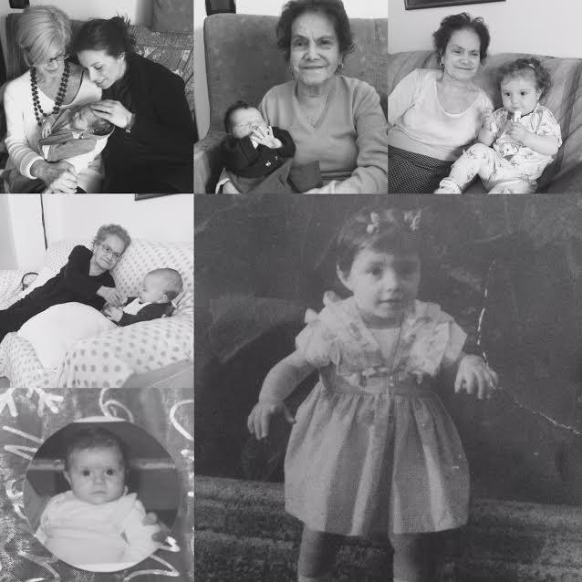 La nonna e la bambina nella parabola della vita