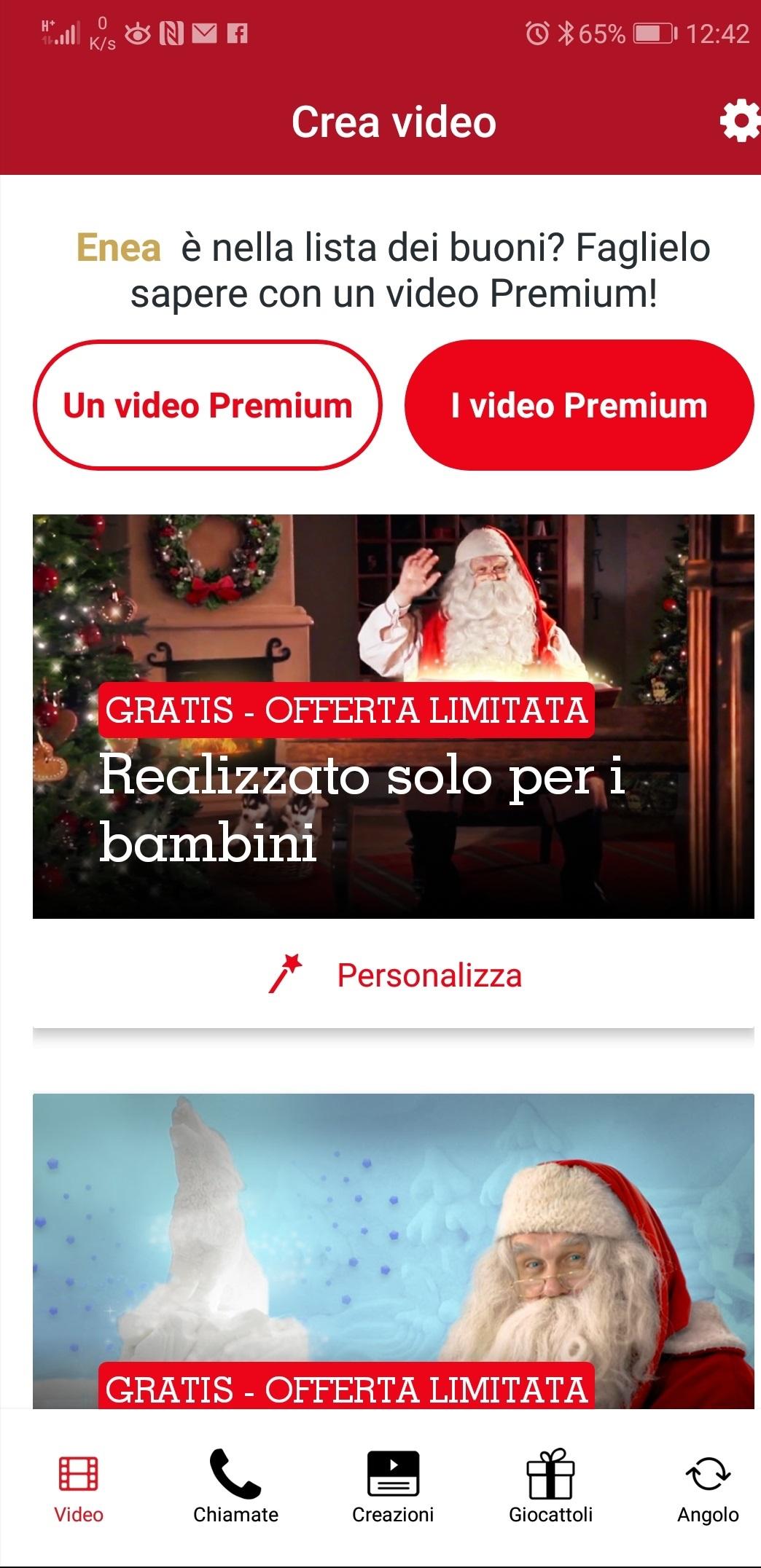 Videochiamata Babbo Natale.Come Creare Un Video O Una Chiamata Da Babbo Natale Quello Vero