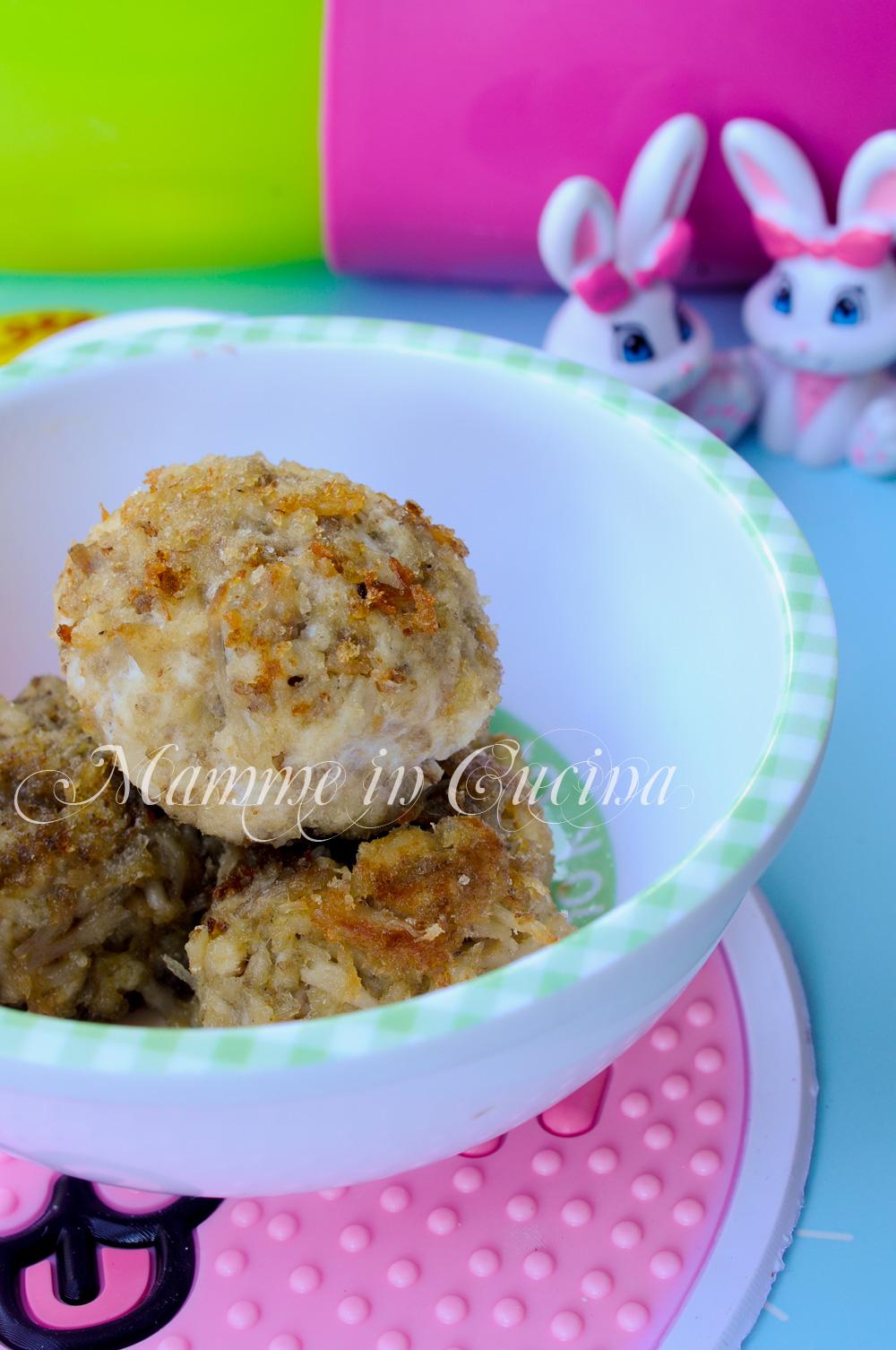 Polpette di coniglio ricette per bambini mamme in cucina