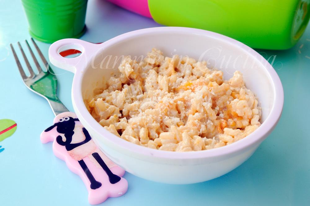 Riso con zucca e philadelphia ricetta facile mamme in cucina