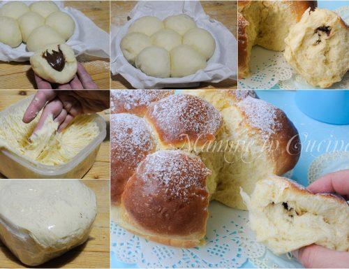 Danubio dolce alla nutella ricetta facile