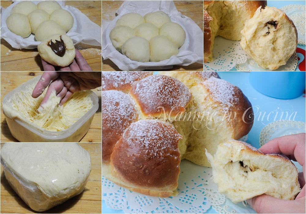 Popolare Danubio dolce alla nutella ricetta facile CX34