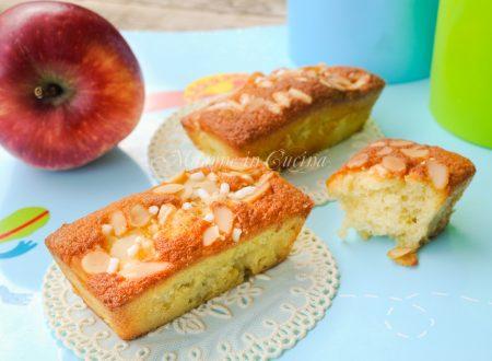 Mini plumcake veloci alle mele ricetta facile