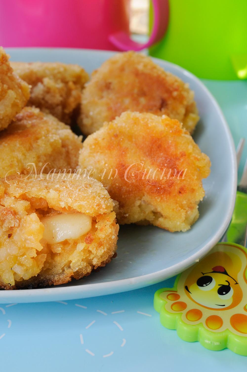 Polpette riso e formaggio ricetta facile mamme in cucina