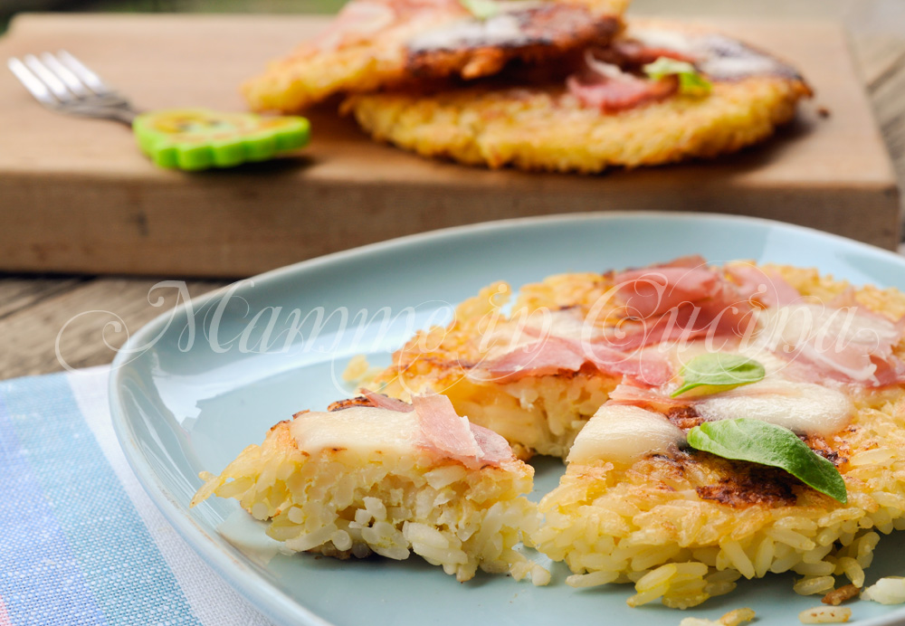 Pizzette di riso farcite ricetta sfiziosa mamme in cucina