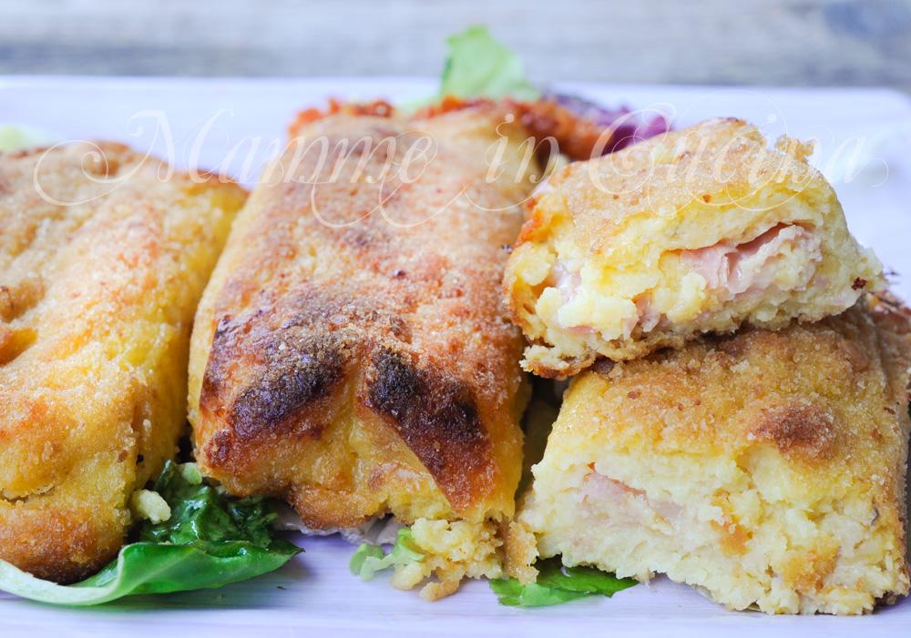 Polpettoni di patate ripieni ricetta sfiziosa mamme in cucina