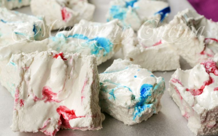 Caramelle gommose fatte in casa tipo marshmallows