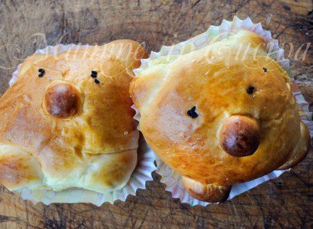 Brioche orsetto da farcire ricetta facile per feste
