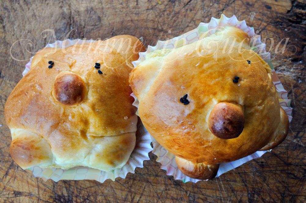 Brioche orsetto da farcire ricetta facile per feste mamme in cucina