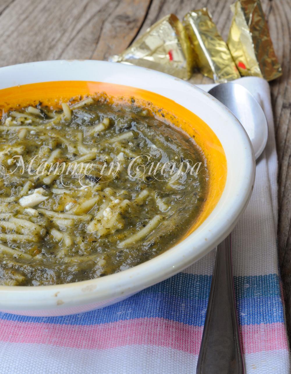 Brodo vegetale con formaggino ricetta facile mamme in cucina