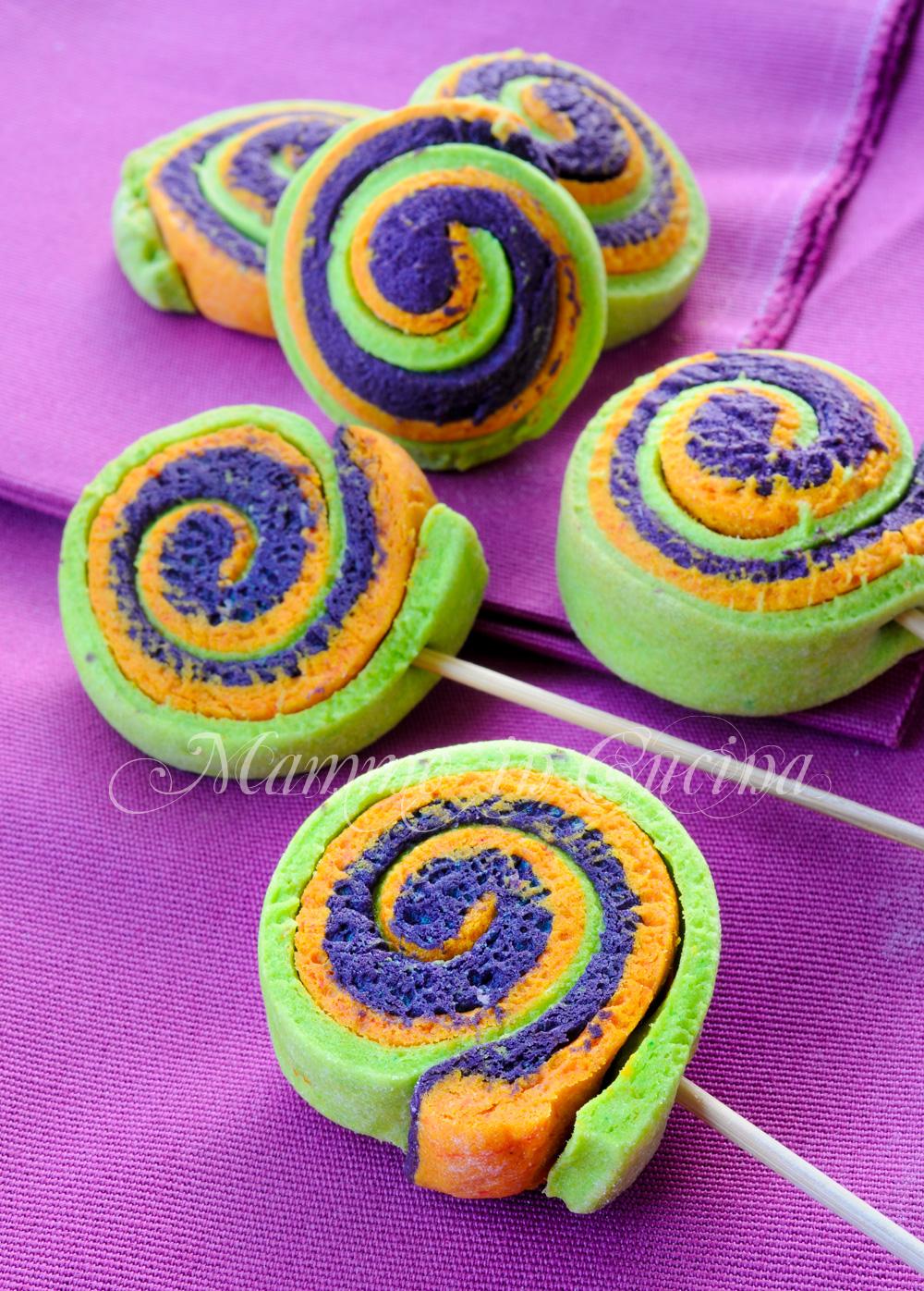 Lolly Pops Colorati Biscotti Facili Su Stecco Mamme In Cucina