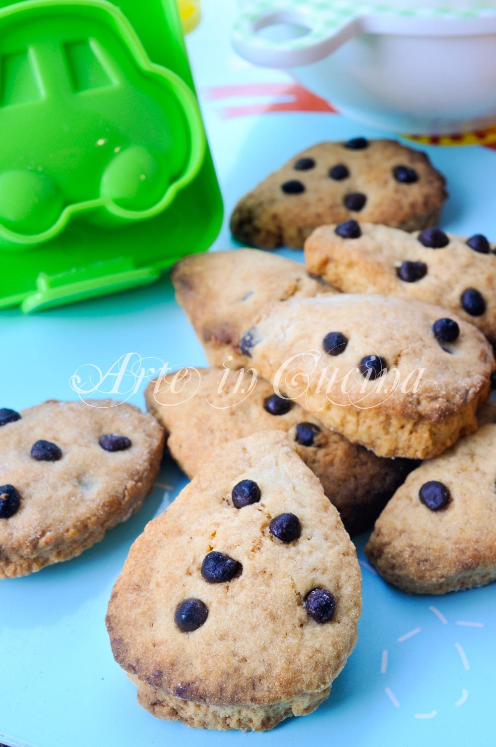 Biscotti goccia con cioccolato facili e veloci mamme in cucina
