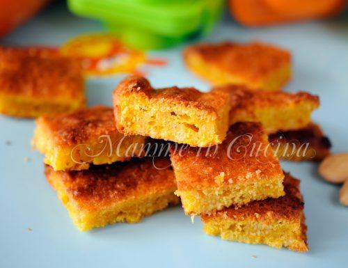 Biscotti di carote e mandorle facili e veloci