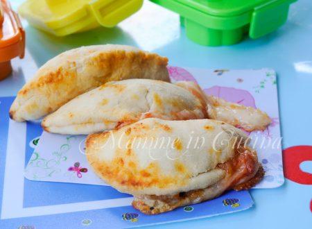 Ravioli di brisè mozzarella e pomodoro