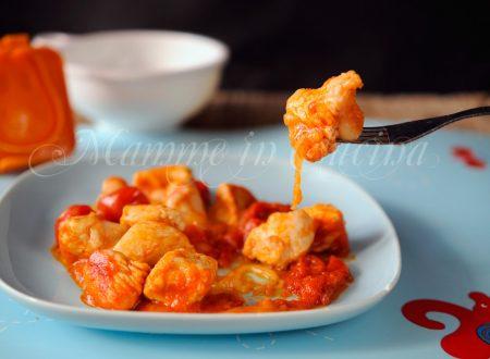 Bocconcini di tacchino pomodoro e formaggio ricetta facile