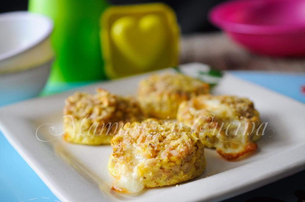 Burger di lenticchie decorticate e formaggio mamme in cucina