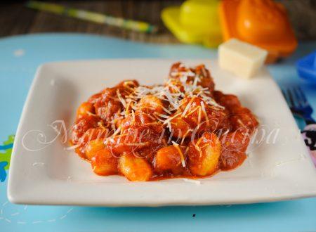 Gnocchi con polpette al sugo ricetta facile