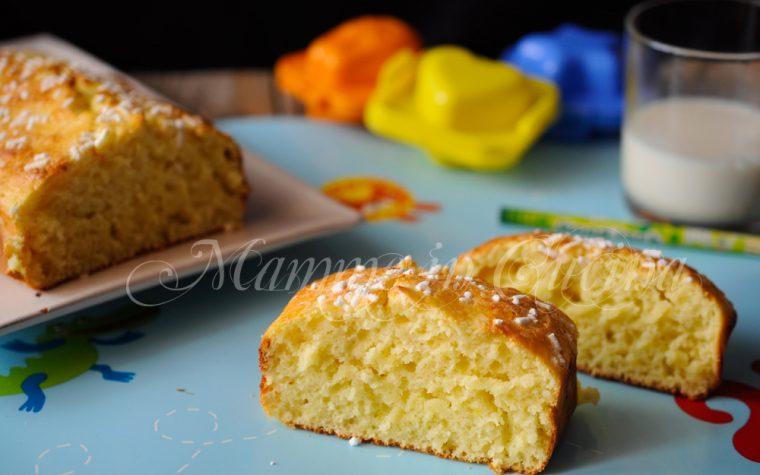 Plumcake al limone e yogurt ricetta veloce