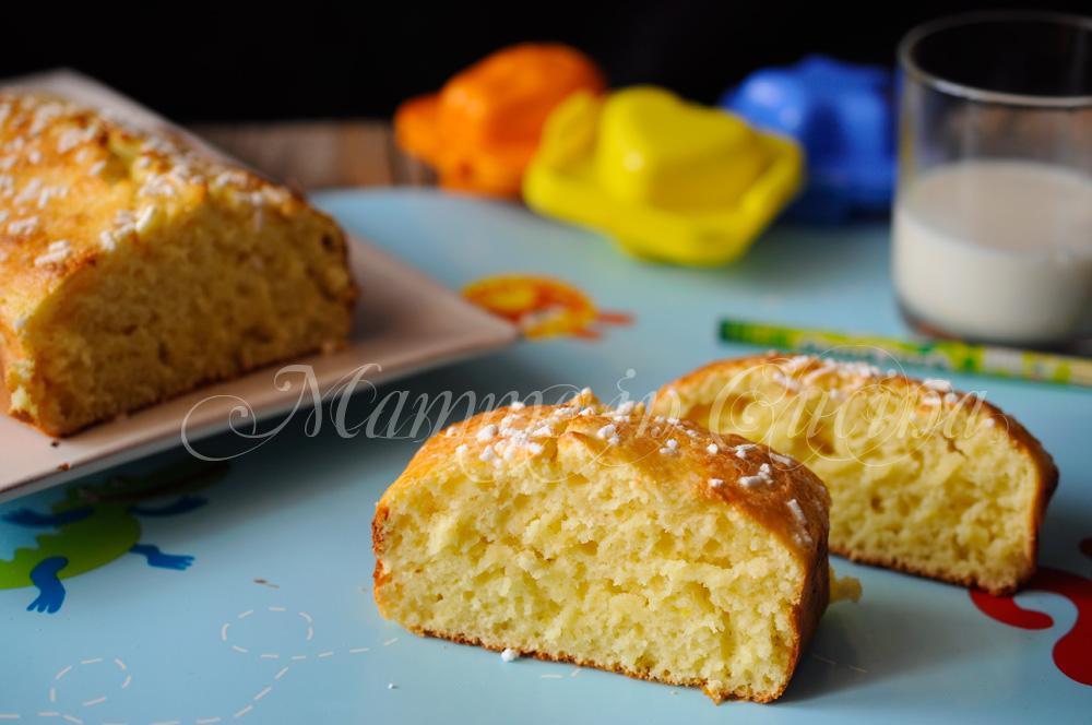 Plumcake al limone e yogurt ricetta veloce mamme in cucina